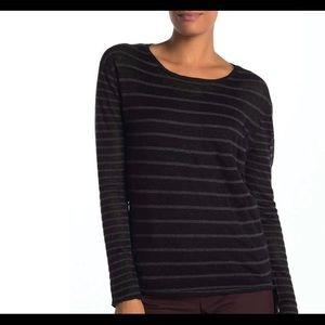 BROCHU WALKER   linen cashmere Harlan sweater XS